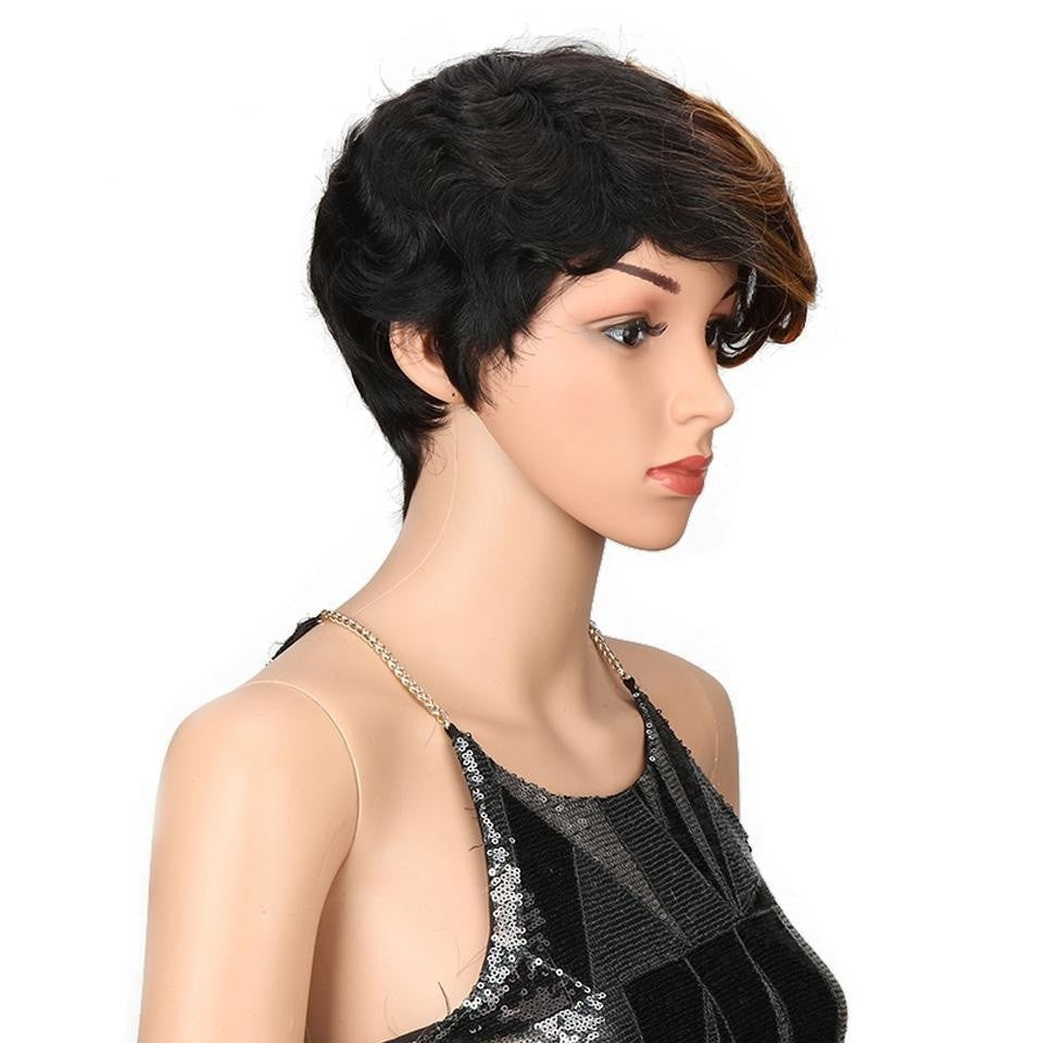 8 Inch Short Synthetic Wig