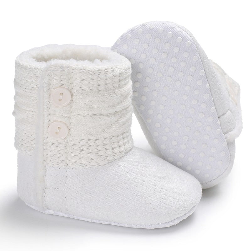Soft Bottom Baby Snow Boots