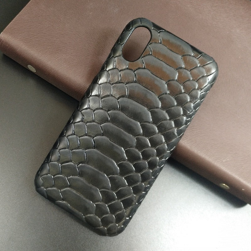 Genuine Leather Ultra Thin iPhone Case