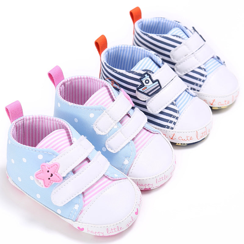 Baby Canvas Soft Soled Non-slip Shoes