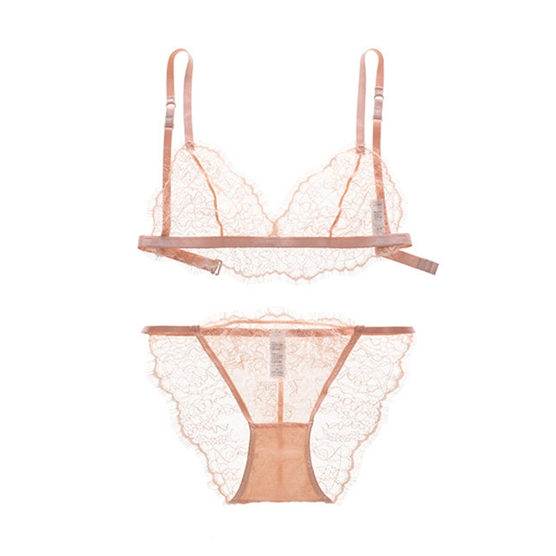 Ultra-Thin Lingerie Set