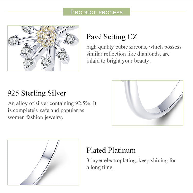 Authentic Sterling Silver Adjustable Ring