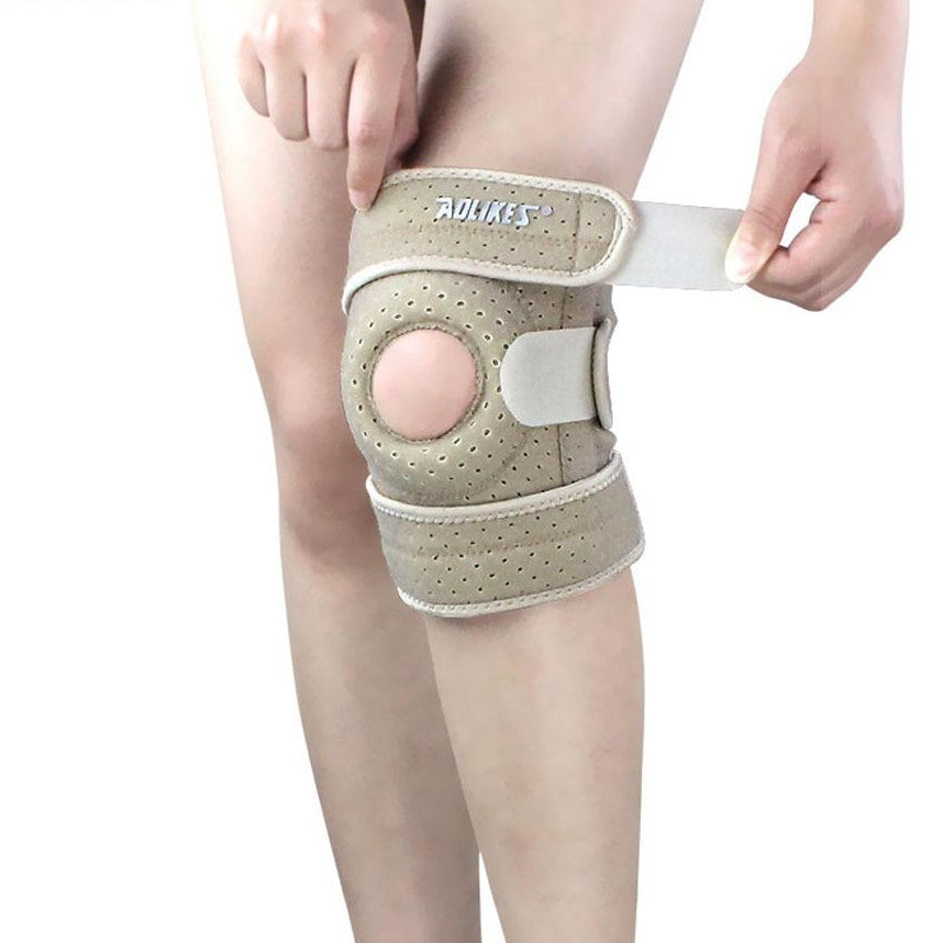 Breathable Four Spring Knee Support Brace