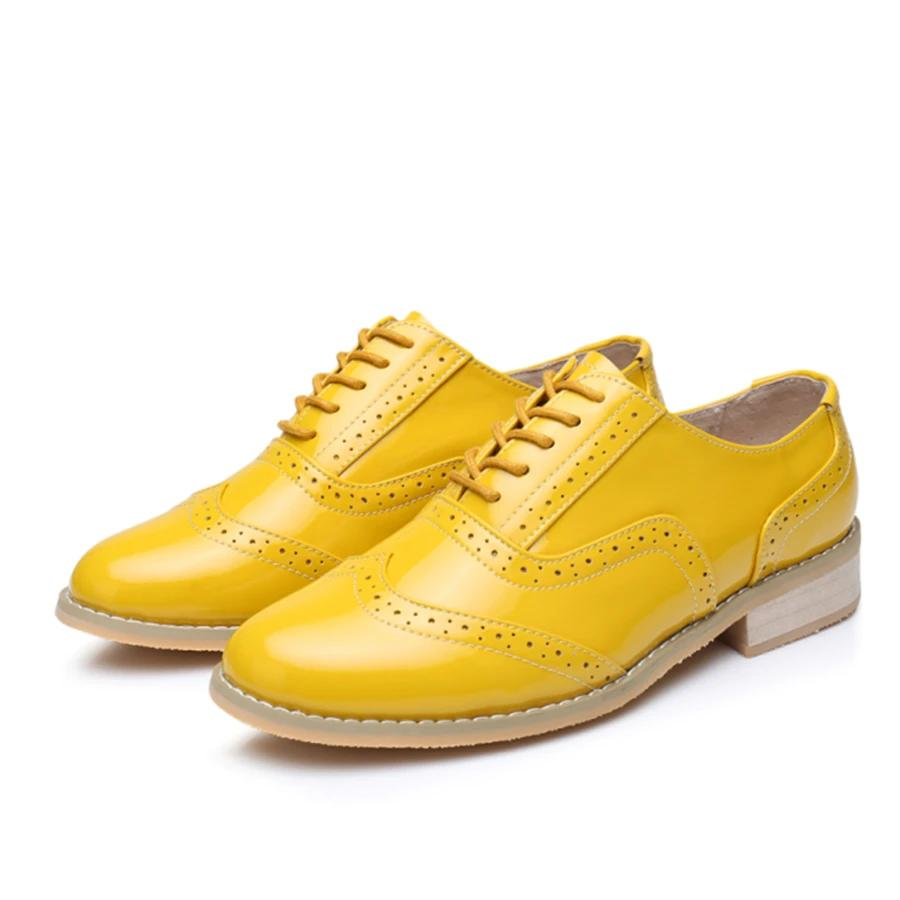 Genuine Leather Handmade Oxford Shoes