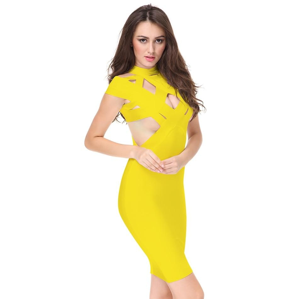 Runway Bandage Dress