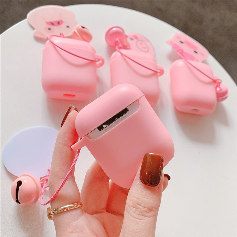Keychain AirPods Silicone Protective Cover