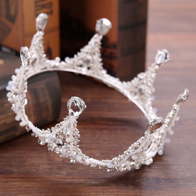 Crystal Queen Rhinestone Bride Crown