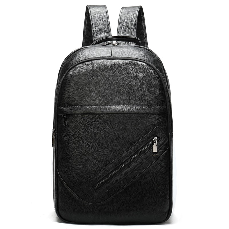 Genuine Leather 14 inch Laptop Backpack