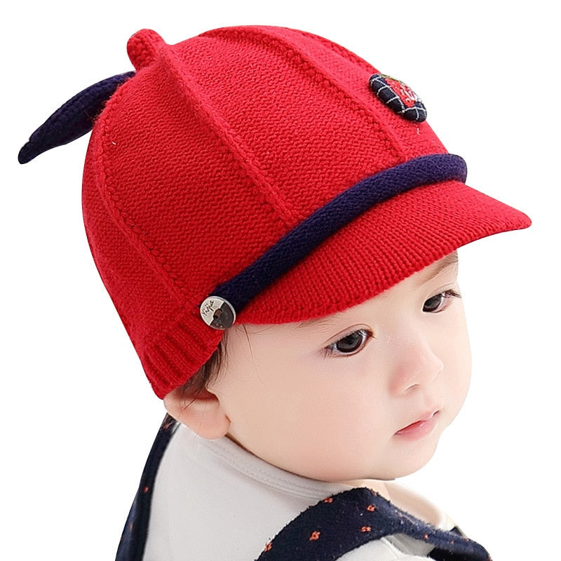 Baby Boy Warm Baseball Cap