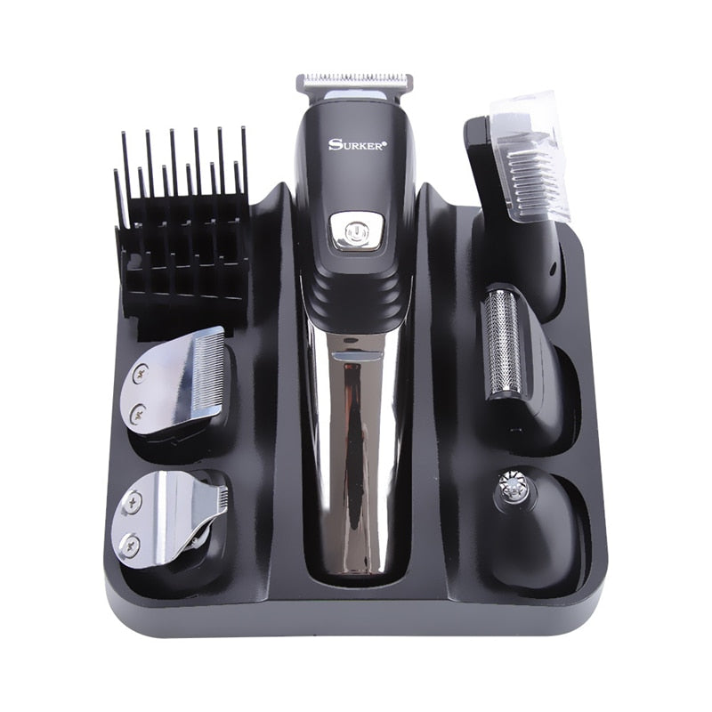 5 in 1 Professional Hair Clipper With USB Charging Hair Trimmer, Beard Trimmer & Nose& Ear Hair Trimmer