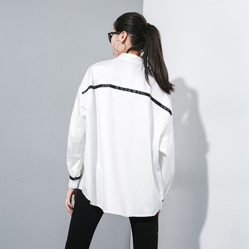 Long Sleeve Loose Fit Shirt