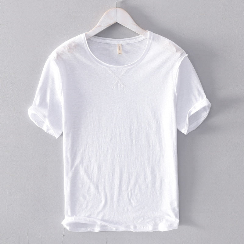 100% Cotton O-Neck Solid T-shirt