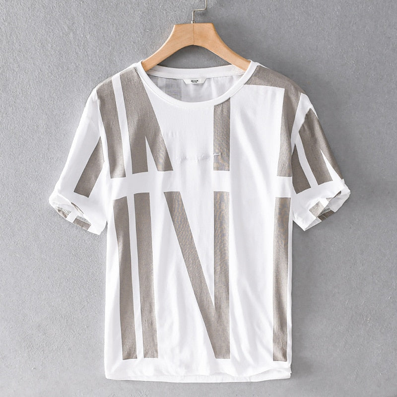 Short Sleeve Linen Tees