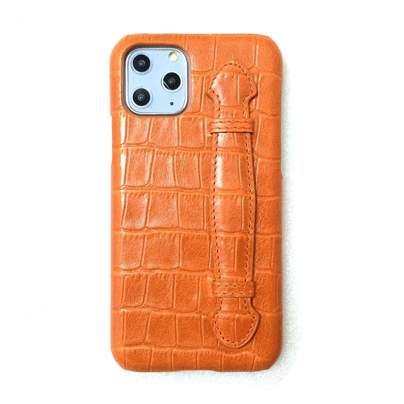 Premium Genuine Leather iPhone Case
