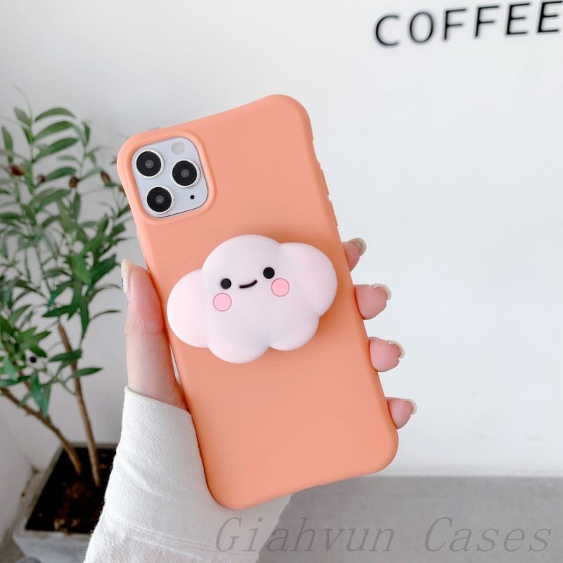 3D Cloud Huawei Phone Cover