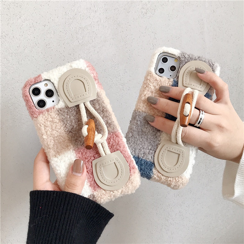 Fur Horn Button iPhone 11 Pro Soft Case