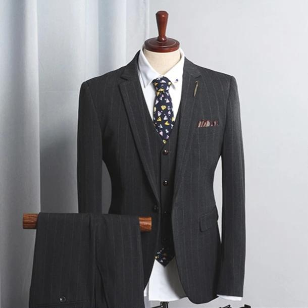 Three Piece Slim Fit Suit