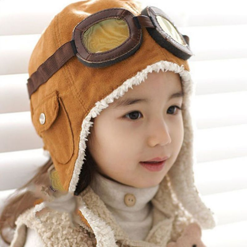 Kids Pilot Aviator Hat