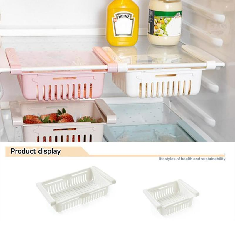 Retractable Refrigerator Pull-out Rack