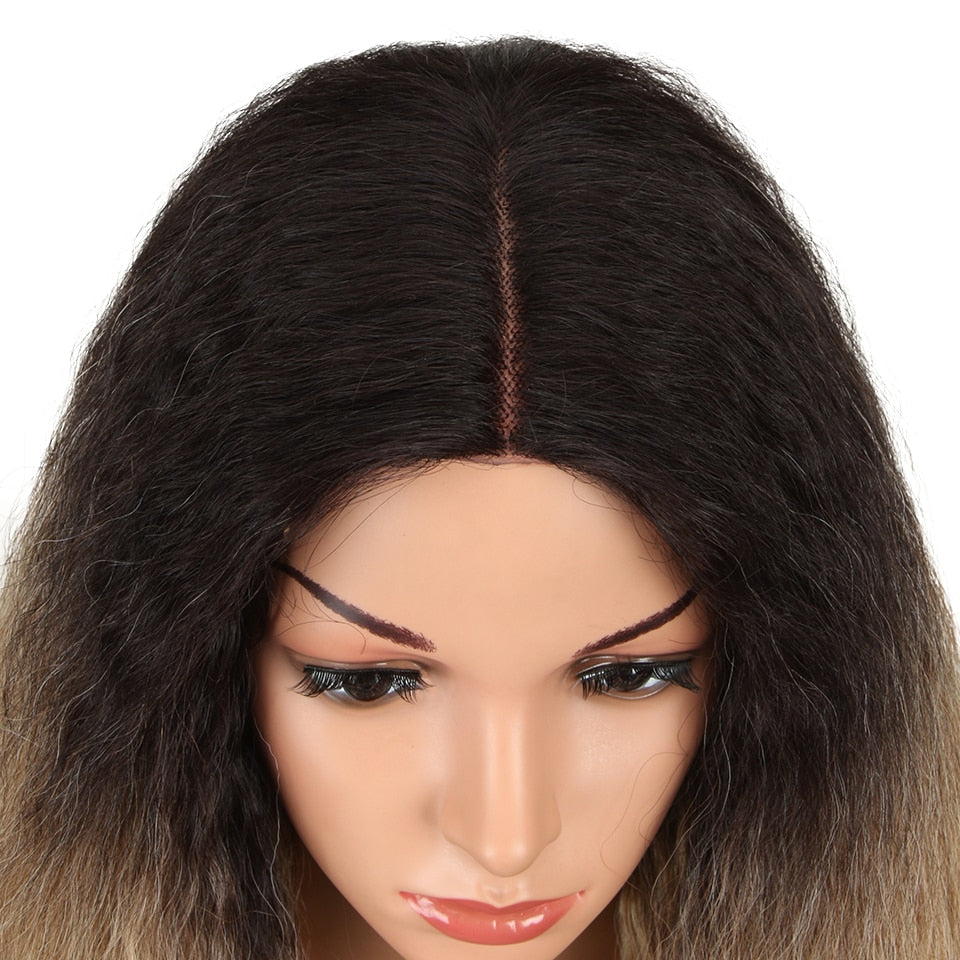 28 Inch Synthetic Lace Front Wig