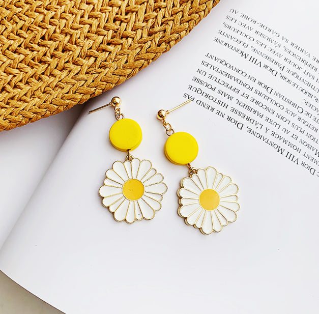 Trendy Metal Bohemian Drop Earrings