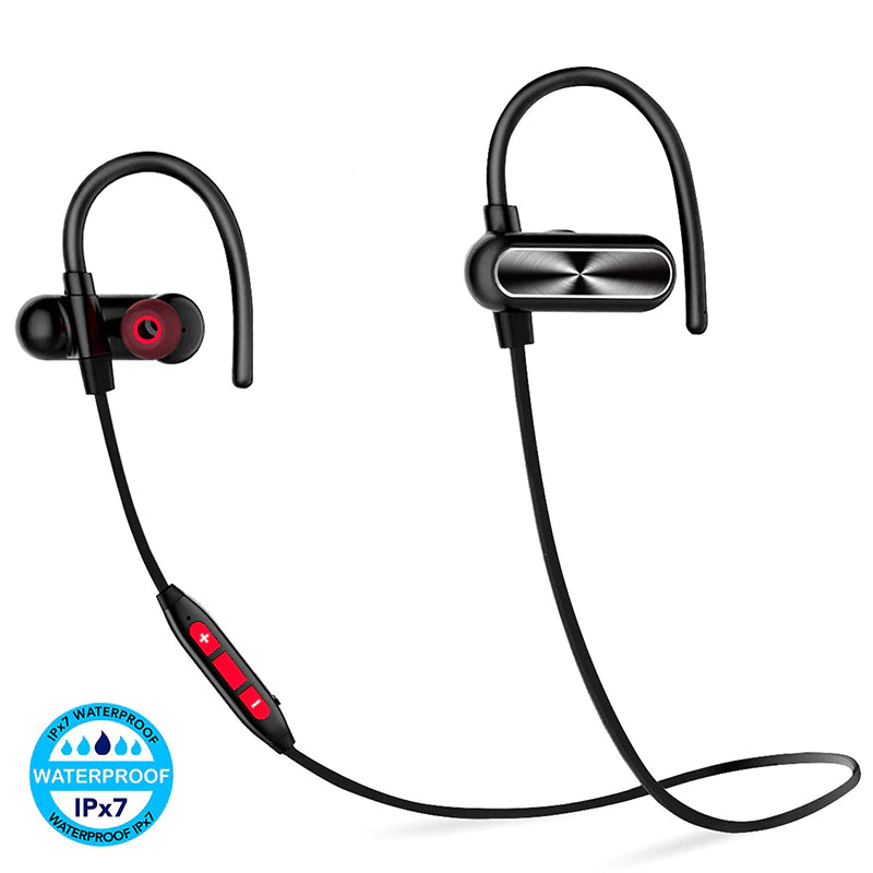 IPX7 Waterproof Bluetooth Headphones