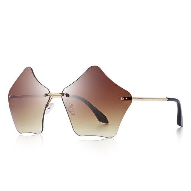 Rimless Sunglasses UV400