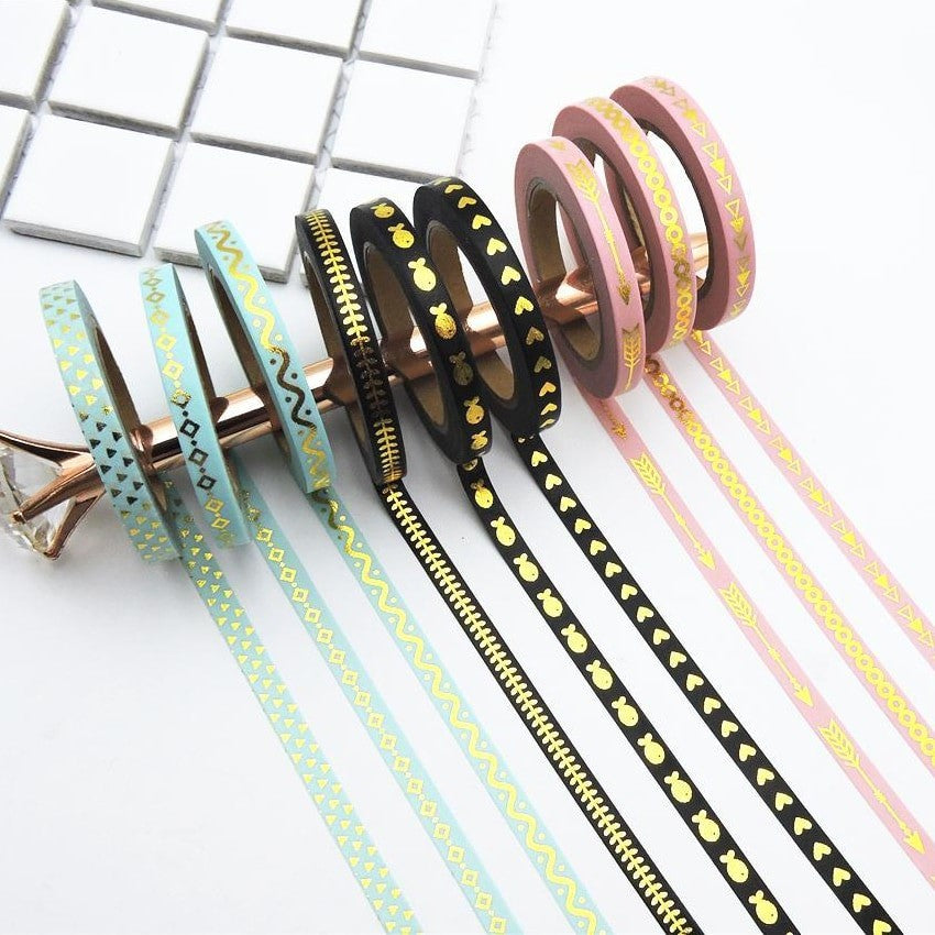Washi Tape - 3Pcs