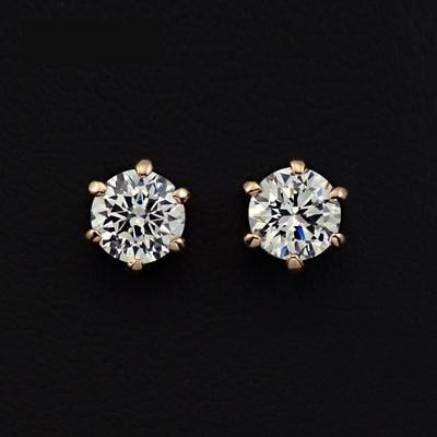 0.5ct Cubic Zirconia Stud Earrings