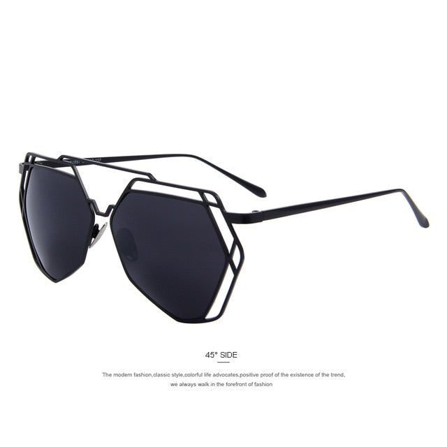 Double-Bridge Sunglasses UV400