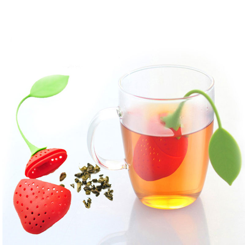 Reuseable Silicone Tea Strainer