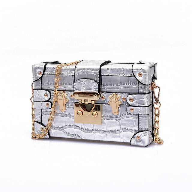 BlingFeed Inc. Retro Clutch bags-wallets, clutch, women, womens-accessories
