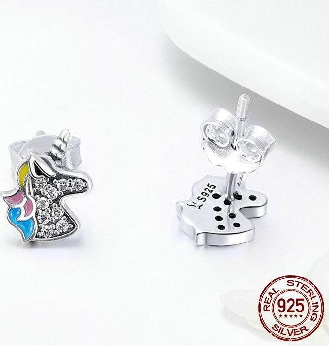 925 Sterling Silver Dazzling Stud Earrings