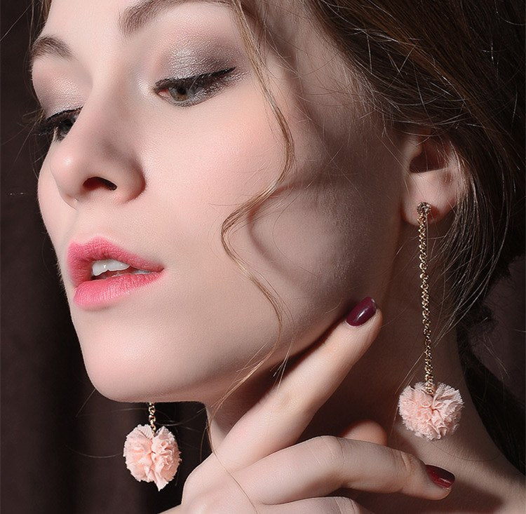 Flowers Eardrop Earrings