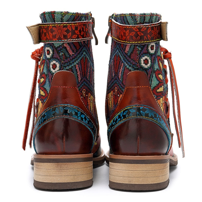 Genuine Leather Handmade Boots