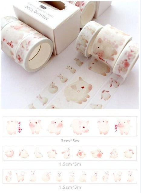 Washi Tape - 3 pcs/lot