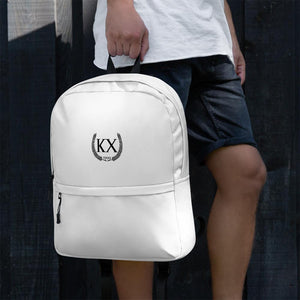 KX - White Backpack