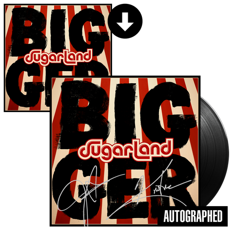 Bigger Signed Vinyl + Digital Album
