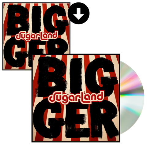 Bigger CD + Digital Album