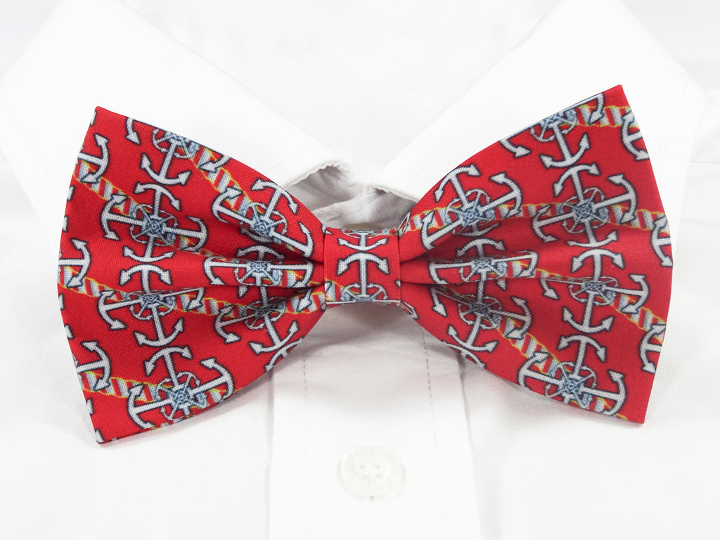 Anchors Away Pre-Tied Bow Tie
