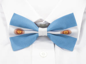 Argentinian Flag Pre-Tied Bow Tie