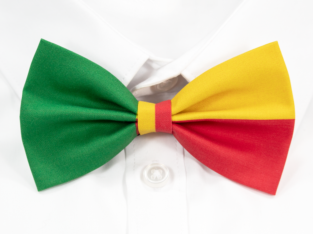 Beninese Flag Pre-Tied Bow Tie