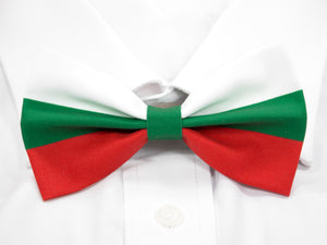 Bulgarian Flag Pre-Tied Bow Tie