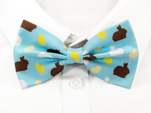 Bunnies and Chicks Pre-Tied Bow Tie