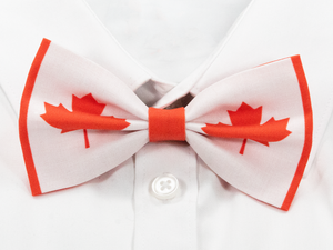 Canadian Flag Pre-Tied Bow Tie
