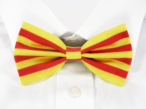 Catalonian Flag Pre-Tied Bow Tie