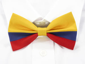 Colombian Flag Pre-Tied Bow Tie
