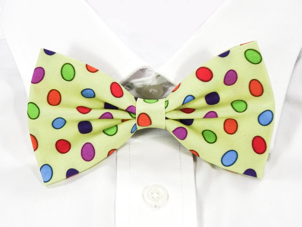Easter Egg Pre-Tied Bow Tie