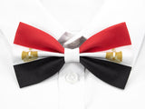 Egyptian Flag Pre-Tied Bow Tie