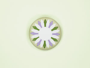 Genderqueer Pride Sunflower 38mm Button Badge